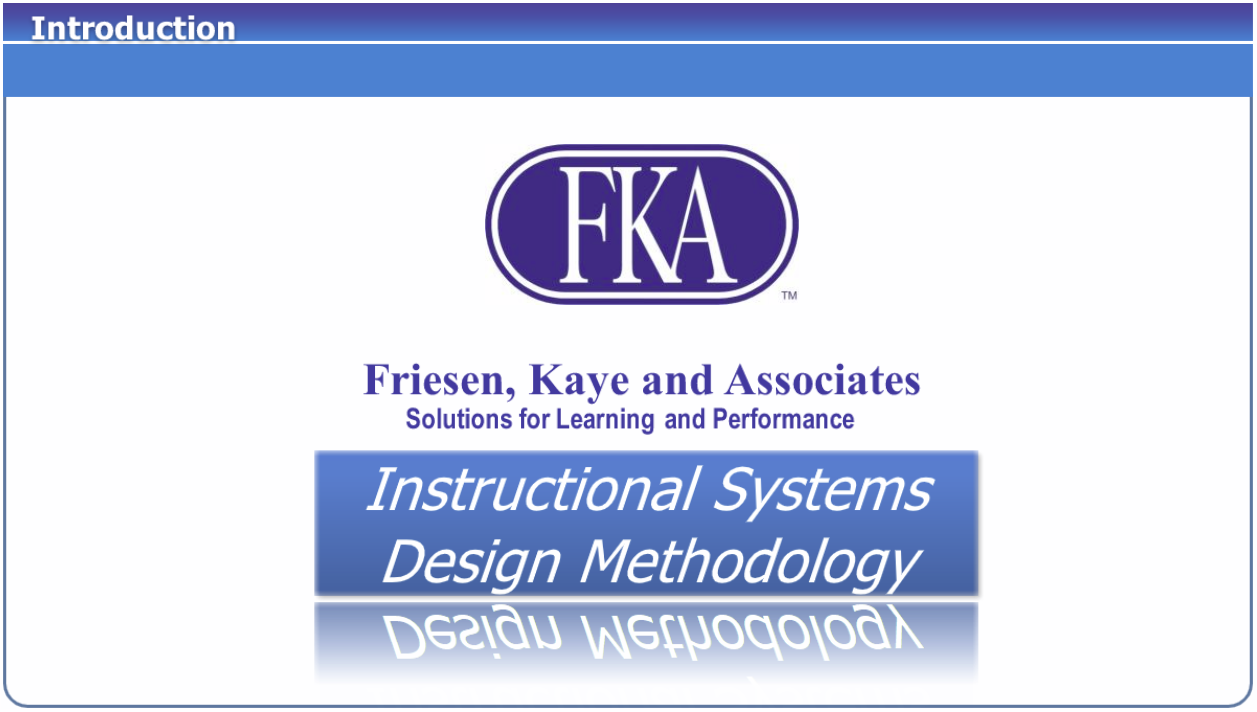 Launch FKA Methodology Overview