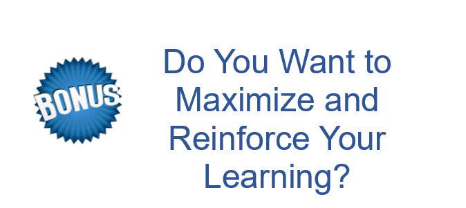 Maximize and Reinforce Your Learning